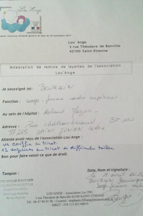 St Junien livraison Lou`Ange layettes bébés nés sans vie enfant IMG