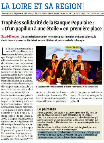 Progrès St Etienne 5 décembre 2014